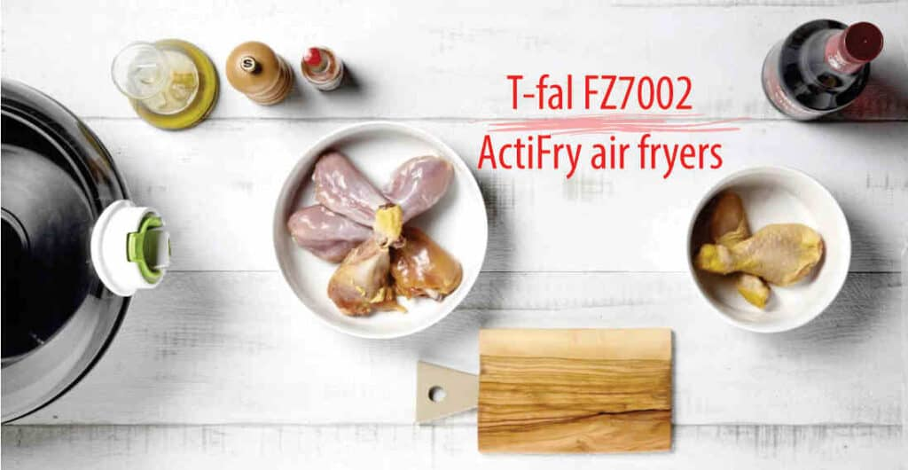 What's Media Says on T-fal FZ7002 ActiFry air fryers