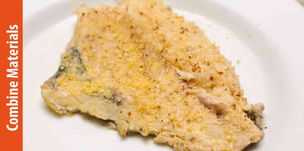 Directions of how to make fish batter with cornmeal