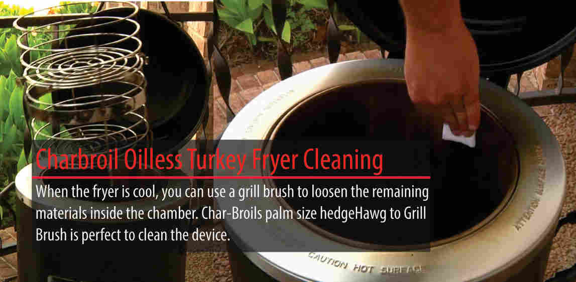 How to clean The Big Easy Fryer