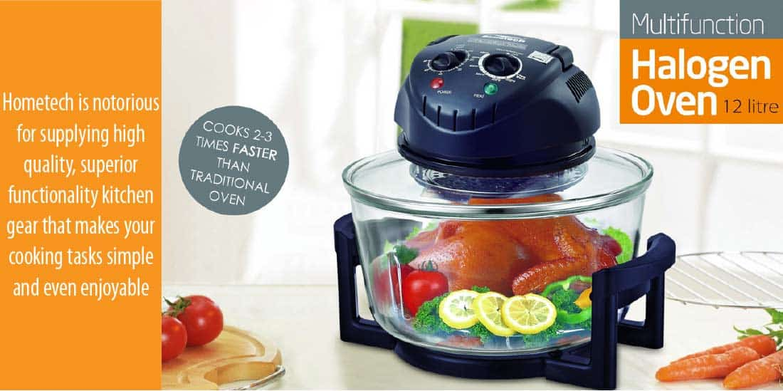 Why you choose this Hometech HT-A11 halogen fryer