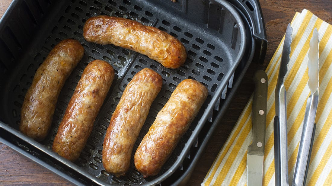 Can you cook sausages in an air fryer?