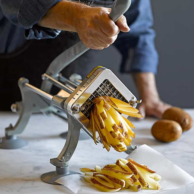 How to Use a French Fry Cutter