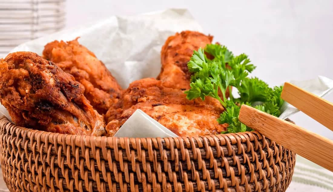 Low-Carb Southern Fried Chicken without flour