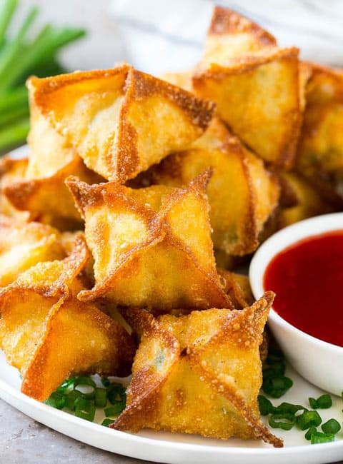What is fried crab rangoon?