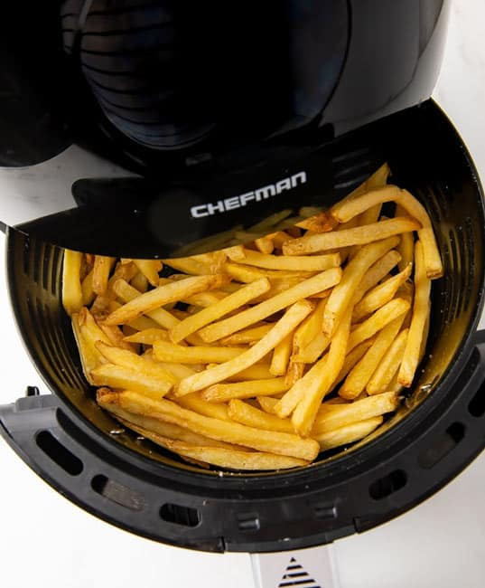 Chefman air fryer recipes french fries