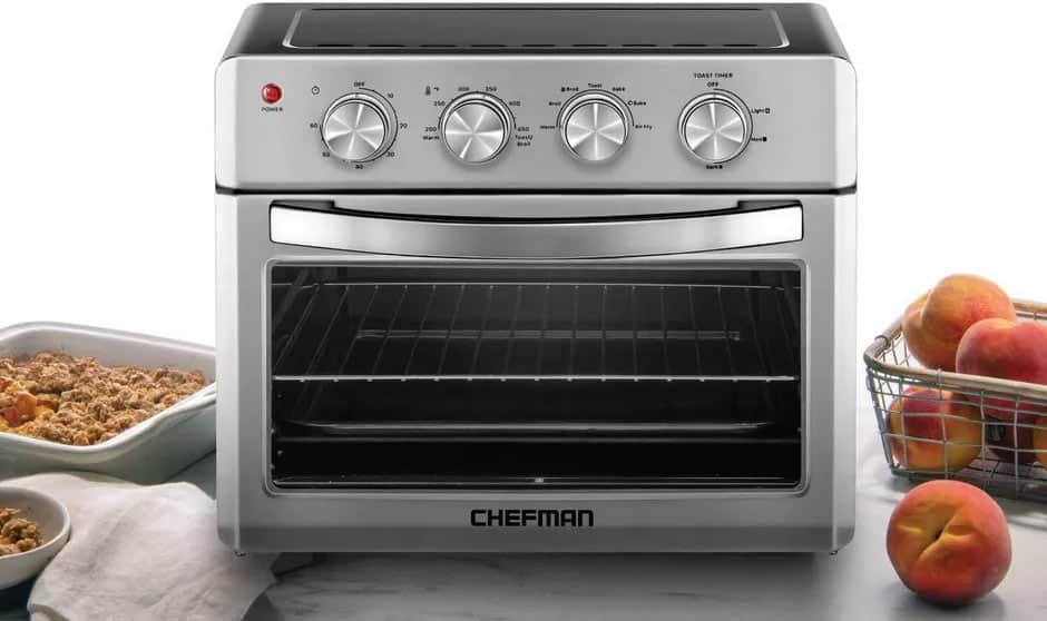 Chefman air fryer toaster oven recipes