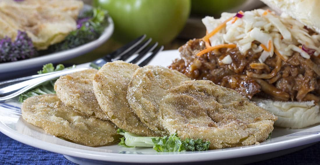 3 Super Easy Air Fryer Fried Green Tomatoes