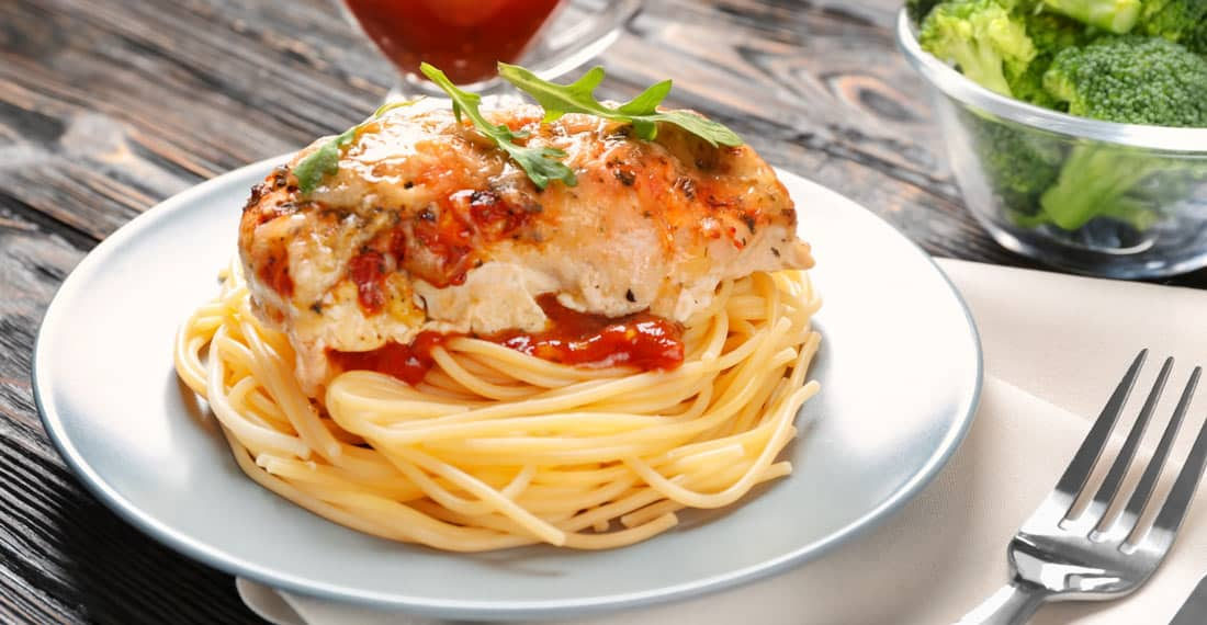 How to make Cheese Stuffed Chicken Parmesan